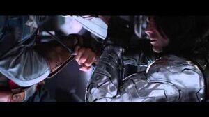 Captain America vs The Winter Soldier HD - End Fight