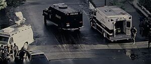Netflix James Brode SWAT car