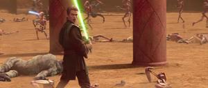 Skywalker green blade