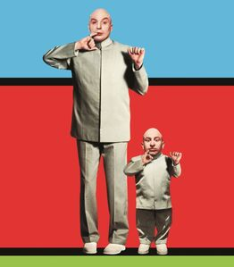 Dr. Evil & Mini-Me