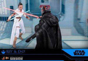 Hot-toys Rey vs Kylo