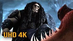 """How to Train Your Dragon 2 - """"Drago Bludvist Taming Hookfang Prisoners"""" (4K UHD 2160p)"""
