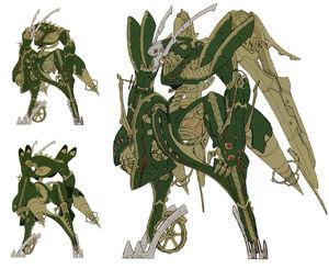 Jade face concept