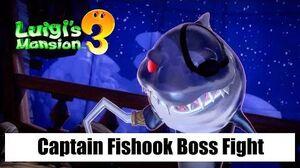 Luigi's Mansion 3 – Captain Fishook Boss Fight (Floor 12 The Spectral Catch)