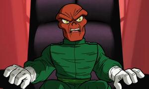 Red Skull Super Hero Squad