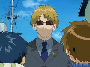 Takato and Henry meet Yamaki
