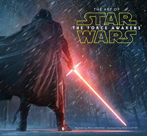 The Art of Star Wars The Force Awakens cover