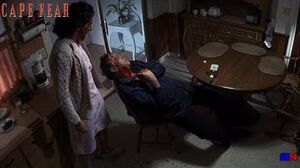 Cape Fear (1991)- Max Cady Strikes Inside The Bowden Home