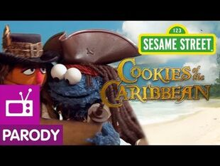 Sesame Street- Cookies of the Caribbean (Pirates of the Caribbean Parody)