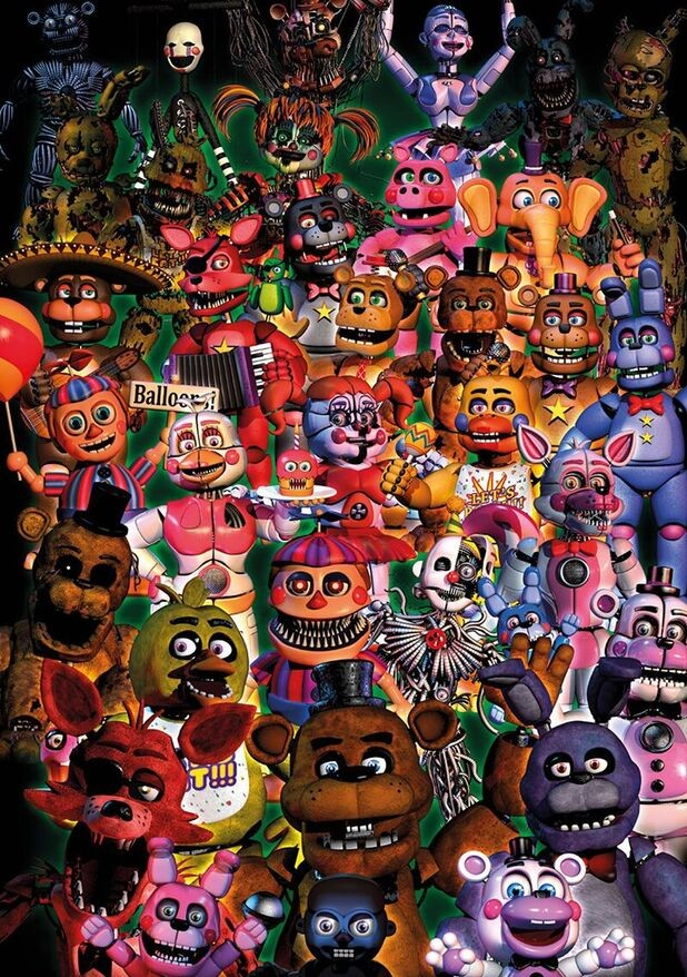 Animatronics (Five Nights at Freddy's)