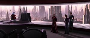 Chancellor Palpatine summoned