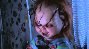 Chucky's Witty Laugh