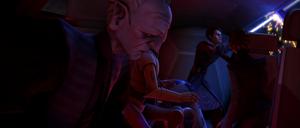 Palpatine Anakin cutting