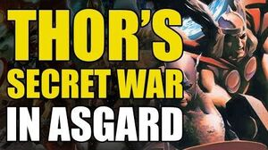 Thor's Secret War (Thor God of Thunder Vol 3 The Accursed)
