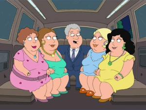 Bill Clinton Throws a Fat Party