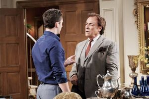Chad accuses Andre of hacking DiMera