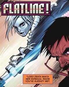 Flatline vs. Constantine Drakon