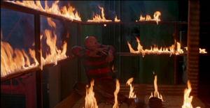 Freddy Kreugers' defeat in Freddy's Revenge
