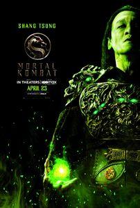 Mortal Kombat 2021 Shang Tusng character poster