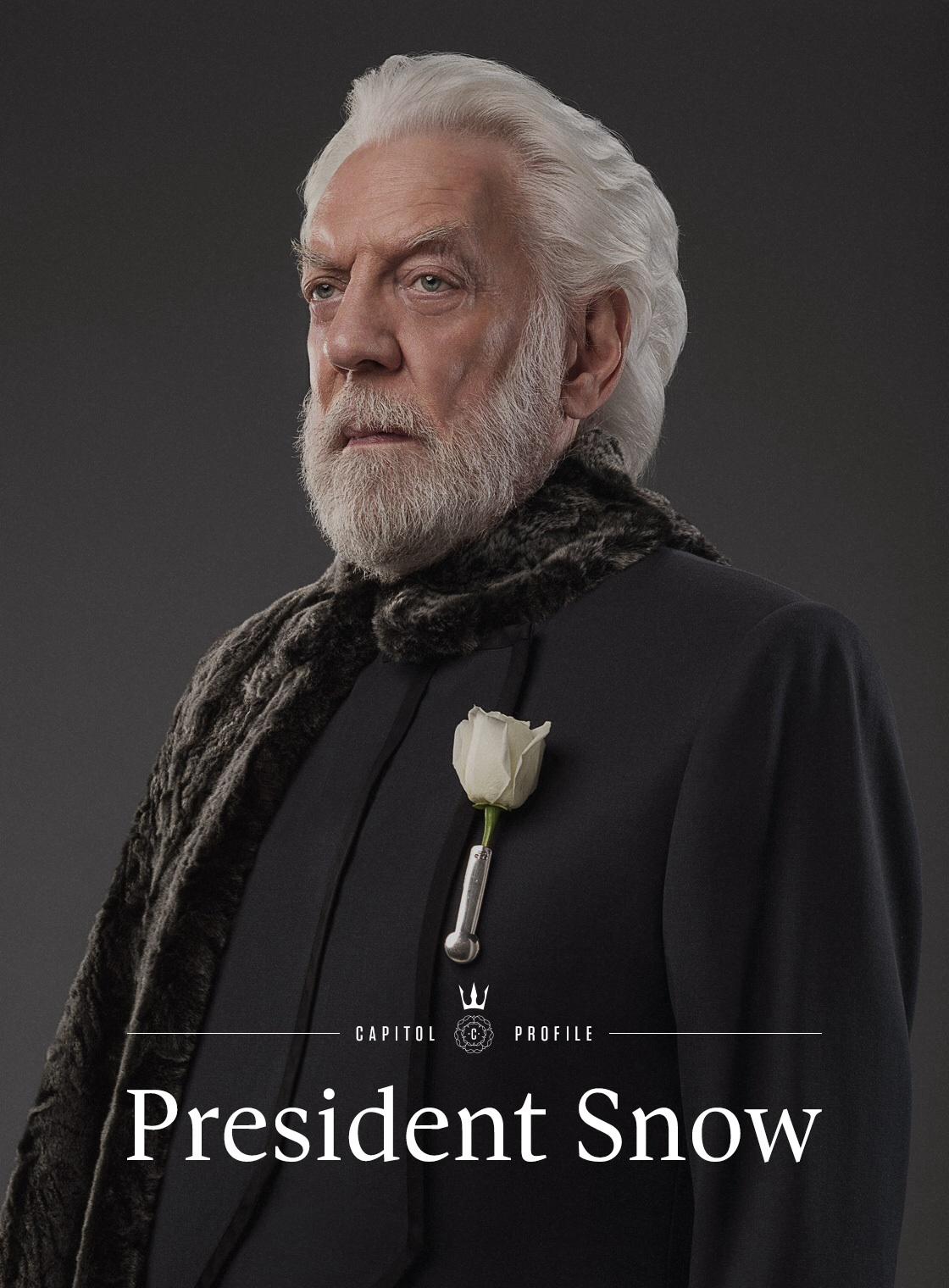 Ordeaux26/Pure Evil Removal - President Coriolanus Snow