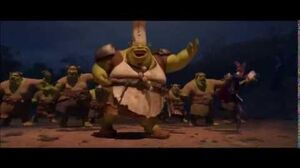 Shrek Forever After Pied piper scenes