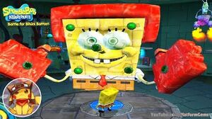 SpongeBob Battle for Bikini Bottom - Ending - Final Boss - Gameplay Walkthrough 1080p