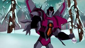 Starscream in Animated Series