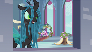 Queen Chrysalis doesn't care S2E26