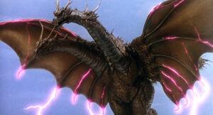 King Ghidorah (Rebirth of Mothra III) 08