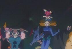 The Dark Moon Circus Clowns