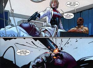 Ultimate Comics Avengers Vol 1 6 page - Red Skull Petra Laskov Earth-1610