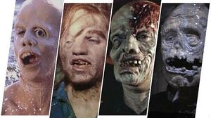 Unmasked Jason Voorhees Evolution (Friday The 13th).