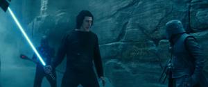 Ben gets the lightsaber 2