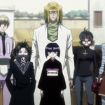The Phantom Troupe arrive at Meteor City.png
