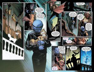 Man-Bat encouter Klarion the Witch Boy
