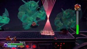 Skylanders Trap Team Spyro vs Wolfgang Nightmare mode
