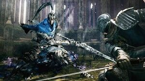 Dark Souls Knight Artorias Boss Fight (4K 60fps)
