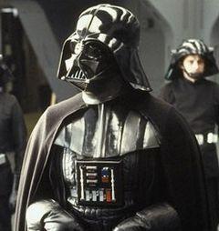 Darth Vader aboard the Executor
