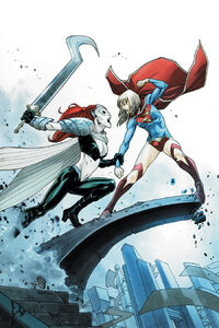 Supergirl Vol 6 5 Textless