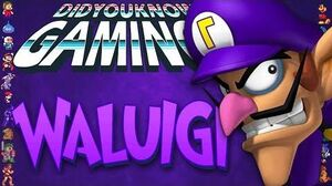 Waluigi - Did You Know Gaming? Feat