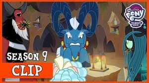 Grogar Commands the Villains to Work Together (Frenemies) MLP FiM HD