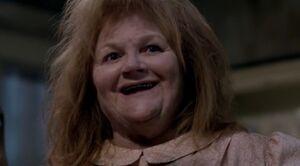 Katja's evil grin
