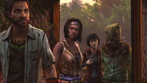 Michonne making the trade