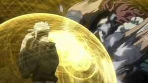 Rappa attacks Tengai Anime