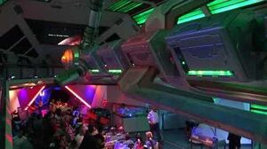 Space Mountain Ghost Galaxy 2017 FULL RIDE Night Vision at Disneyland Park