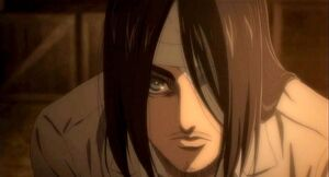 Eren posing as Kruger in the anime