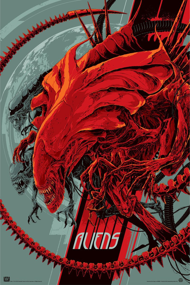 Red Xenomorphs