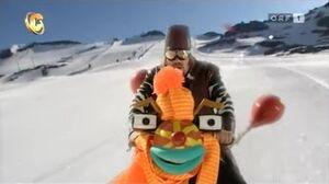 Hunfredo riding Tom