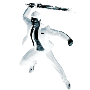 Mister Negative from MSM render