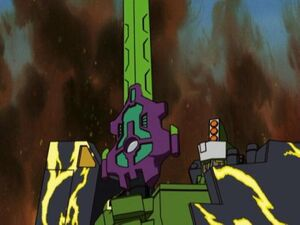 Tidal Wave Received the Megatron's Sword
